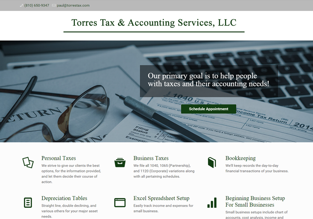 Torres-Tax-&-Accounting-website-screenshot