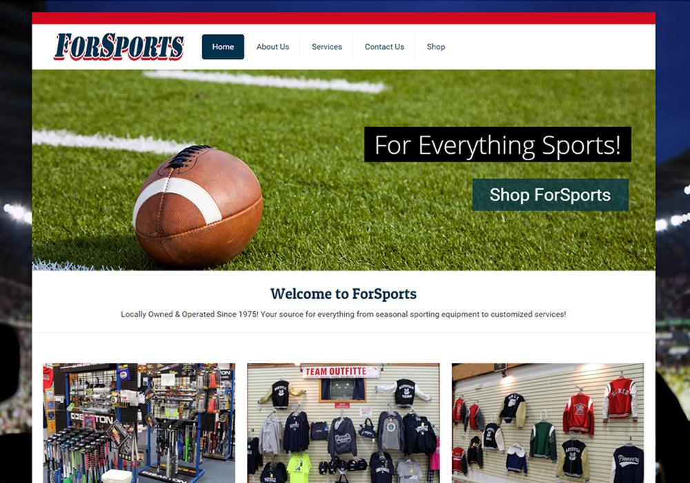 forsports-website-screenshot