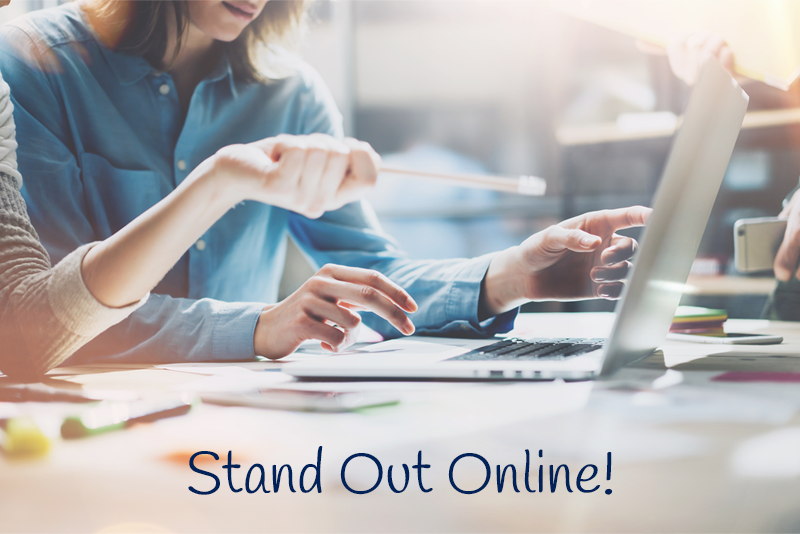 Stand out online